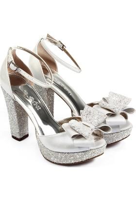 Gön Kadın Ayakkabı Ekru 94773
