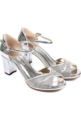 Gön Kadın Ayakkabı Gümüş 94776