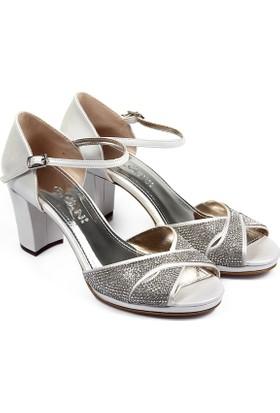 Gön Kadın Ayakkabı Ekru 94776