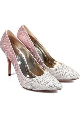 Gön Kadın Ayakkabı Pudra 95093