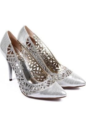 Gön Kadın Ayakkabı Gümüş 95180