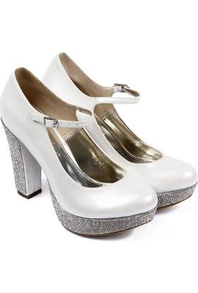Gön Kadın Ayakkabı Ekru 95212