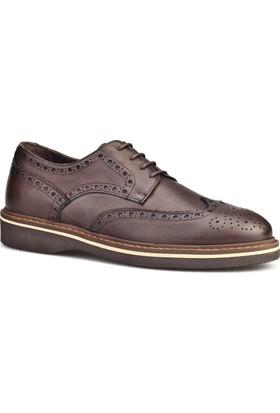 Cabani Bağcıklı Erkek Ayakkabı Kahverengi Antik Deri