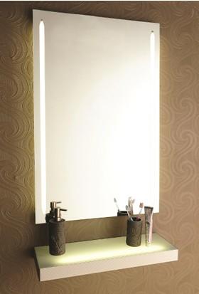 Gürçay Işıklı Banyo Aynası Ön Ve Yan Işıklı