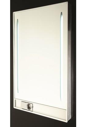 Gürçay Işıklı Banyo Aynası Prizli