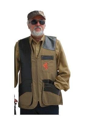 Atıcı Yelek-31 503 Browni Atış Yeleği Deri Darbelik