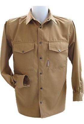 Av Gömleği-20 217 Klasik Hafif Gömlek