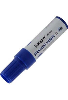 Mikro 6007 Jumbo 7 mm Permanent Kalem Renk - Mavi