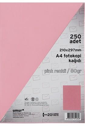 Umur Fotokopi Kağıdı A4 80Gr Renkli Pınk 170