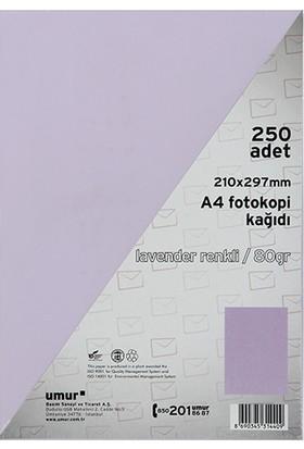 Umur Fotokopi Kağıdı A4 80Gr Renkli Lavender 185
