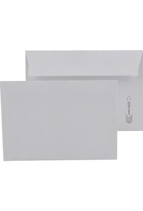 Oyal Kare Zarf Viktoria 114 x 162 mm Beyaz 25'li Paket