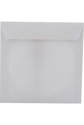 Oyal Zarf Cd 12.5X12.5 80Gr Beyaz Pencereli 25 Li