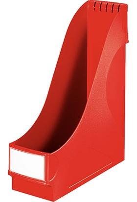 Leitz Magazinlik Plastik (2425) Renk - Kirmizi
