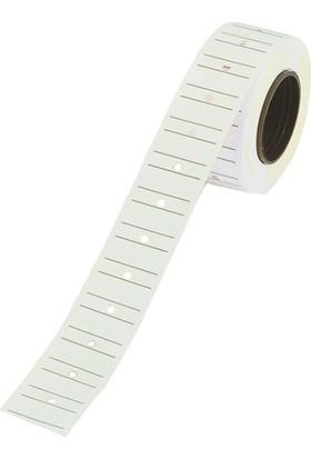 Tanex Fiyat Etiketi Çizgili 12 mm x 21 mm 24'lü Avantaj Paketi