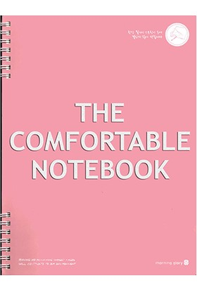 Morning Glory 1643 A4 Spiralli The Comfortable Notebook Renk - Pembe