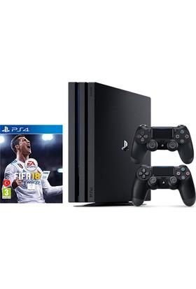 Sony Playstation 4 Pro 1 Tb ( Ps4 Pro ) + 2. Kol + Fifa 18 (Eurasia)