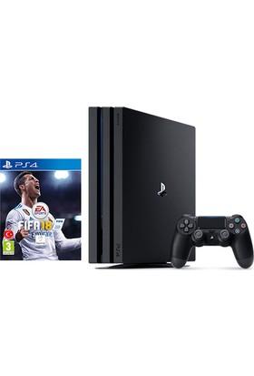 Sony Playstation 4 Pro 1 Tb ( Ps4 Pro ) + Ps4 Fifa 18 (Eurasia Garantili)