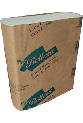 Belleza Extra Z Katlı Havlu, 200 Adet, 12 Paket