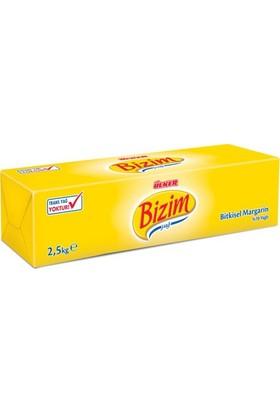 Ülker Bizim Bitkisel Margarin 2,5 Kg - 6 Adet