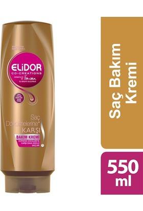 Elidor Saç Kremi Saç Dökülmesine Karşı 550 ml