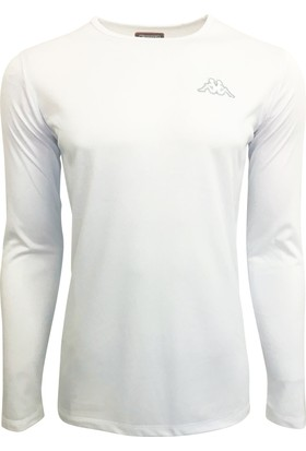 Kappa Erkek Polyester Uzun Kollu T-Shirt