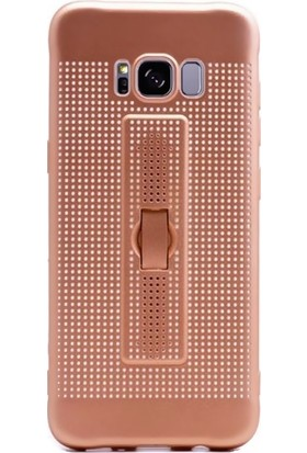 Kılıfshop Samsung Galaxy S8 Plus Delikli Yüzüklü Kılıf