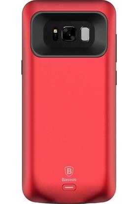 Kılıfshop Samsung Galaxy S8 Baseus Şarjlı Kılıf + Ekran Koruyucu