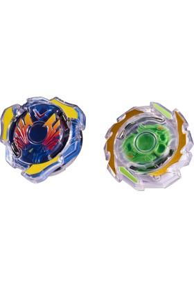 Beyblade Burst İkili Paket - Valtryek & Unicrest
