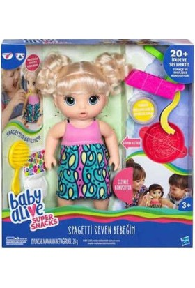 Baby Alive Spagetti Seven Bebeğim