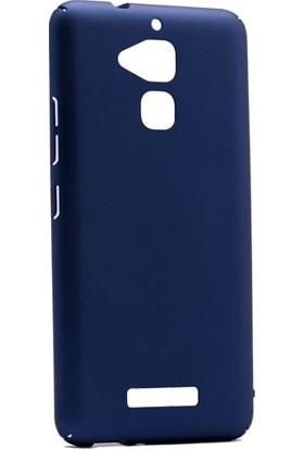 Gpack Asus Zenfone 3 Max ZC520TL Kılıf Sert Ruber Arka Kapak + Nano Ekran Koruyucu