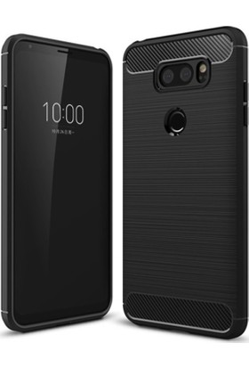 Gpack LG V30 Kılıf Room Tpu Silikon + Nano Ekran Koruyucu