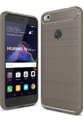 Gpack Huawei P9 Lite 2017 Kılıf Room Tpu Silikon + Nano Ekran Koruma