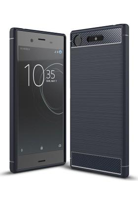 Gpack Sony Xperia XZ1 Kılıf Room Tpu Silikon + Nano Ekran Koruma
