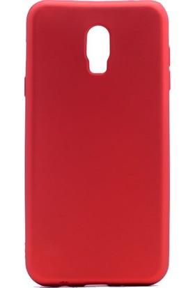 smiletisim Samsung Galaxy C8 Silikon Kılıf Lüx Premier Hassas + Nano Ekran