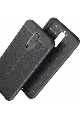 Case 4U Huawei Mate 10 Lite Kılıf Darbeye Dayanıklı Niss Siyah