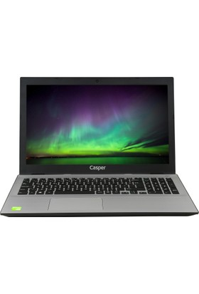 "Casper F800.7500-AD40X-S-IF Intel Core i7 7500U 12GB 256GB SSD GT940MX Freedos 15.6"" FHD Taşınabilir Bilgisayar"