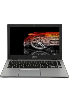 """Casper F300.7200-8D00X-S Intel Core i5 7200U 8GB 256GB SSD Freedos 13.3"""" FHD Taşınabilir Bilgisayar"""