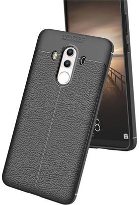 Case 4U Huawei Mate 10 Pro Kılıf Darbeye Dayanıklı Niss Siyah