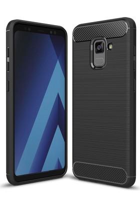 Case 4U Samsung Galaxy A5 2018 Korumalı Arka Kapak Room Siyah