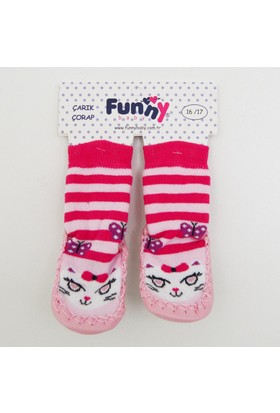 Funny 2517 Bebek Çarık Çorap