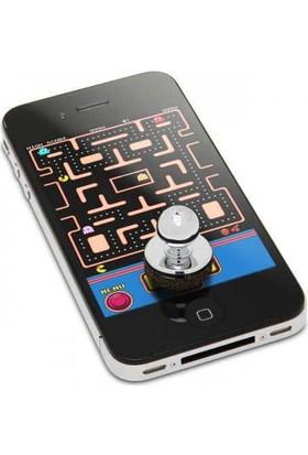 TechnoStyle Oyun Zamanı Telefon Joystick'i Tüm Telefonlar ve Tabletlere Uyar 2 Adet Siyah