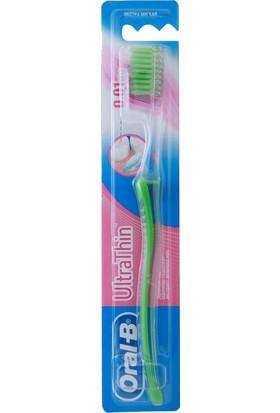Oral-B Diş Fırçası UltraThin Hassas Diş Eti Bakımı Ekstra Yumuşak Yeşil