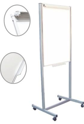 Yazboz Tekerlekli Ayaklı Flip Chart 60x100