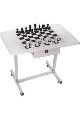 Yazboz Satranç Masası Komple 60x80