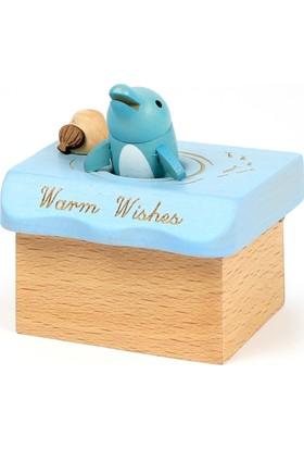 Wooderfullıfe Deniz Konseptli Müzik Kutusu Sevgilerimle, Yunus Balığı 1030833