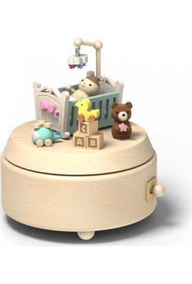 Wooderfullıfe Yeni Doğan Konseptli Müzik Kutusu Ee Bebeğim 1060508
