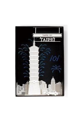 Wooderfullıfe 9025113 Kendin Yap 3D Karton Taiwan Taipei
