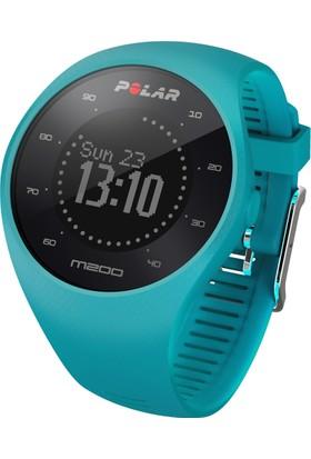 Polar M200 Bilekten Nabız Ölçen Gps'li Koşu Saati - Blue (Türkçe Dil Seçeneği) M/L