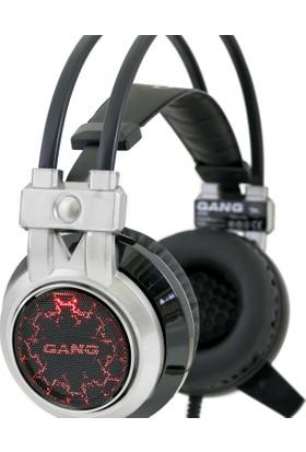 Gang GH-03 Led Işıklı Titreşimli Mikrofonlu Oyuncu Kulaklık