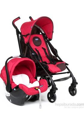 Chicco Duo Lite Way Plus & Keyfit Seyahat Sistem Bebek Arabası / Fire